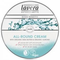 Crema BIO pe baza unt de shea si ulei de migdale pentru pielea uscata,150 ml , Lavera