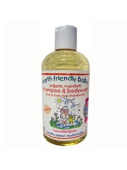 Sampon si gel de dus mandarine (0-3ani) 250 ml Earth Friendly Baby