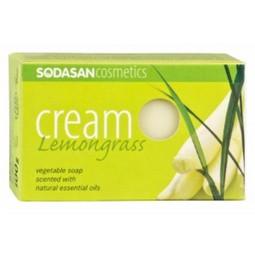 Sapun Crema Bio Lemongrass 100 Gr Sodasan