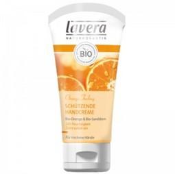 Crema de maini bio cu extract pretios de catina alba si ulei organic de portocale, 50 ml, Lavera