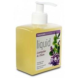 Sapun bio lichid din plante lavanda-masline, 300 ml, Sodasan
