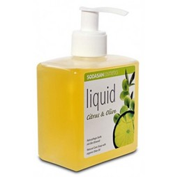 Sapun lichid din plante citrice-masline, 300 ml, Sodasan