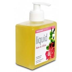 Sapun bio lichid din plante trandafir-masline, 300 ml, Sodasan