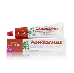 Pasta de dinti Power Smile, fara fluor, pt. albirea dintilor, 170 g. Jason