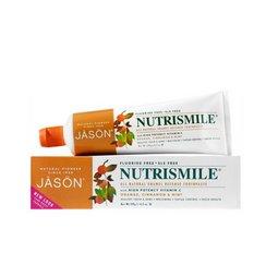 Pasta de dinti Nutrismile, pentru prevenirea tartrului si cariilor, 120 gr. Jason