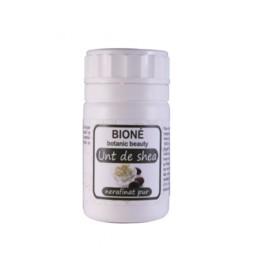 Unt de Shea pur nerafinat Bione, 100 gr