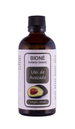 Ulei de avocado virgin, crud, 100 ml., Bione