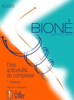 Dres contra celulitei si varicelor BIONE clasa II 15-20 mm col Hg (profilactic si terapeutic)