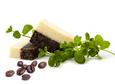 Sapun natural cu Cafea si Menta Cafe et Papillon, 90 gr., Deja Vu