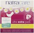 Absorbante Ultra Extra de noapte (3 picaturi) - normal, 12 buc, Natracare