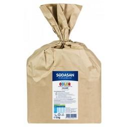 Detergent Praf Bio Compact Rufe Color si Albe 5 Kg Sodasan