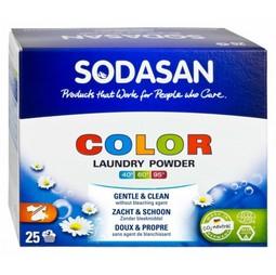 Detergent Praf Bio Compact Rufe Color si Albe 1,2 Kg Sodasan