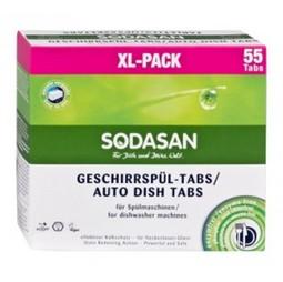 Tablete Masina Spalat Vase Bio 55 Buc XL Pack Sodasan