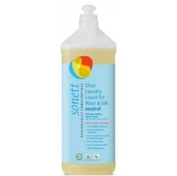 Detergent Ecologic Lichid Pt. Lana Si Matase Neutru 1l Sonett