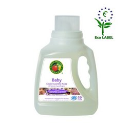 Detergent lichid pt. bebelusi - musetel si lavanda, 50 spalari, 1.5l., Earth Friendly Products